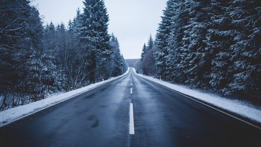 дорога зима