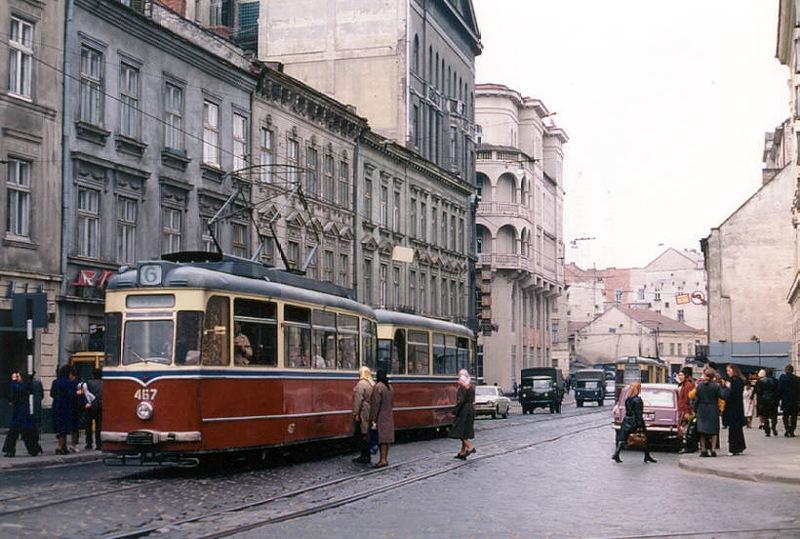 Початок Городоцької, 1978 рік.