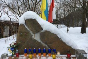 Польський дисидент встановив пам'ятник Героям Небесної Сотні