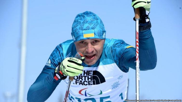 Для біатлоніста Віталія Лук'яненкаце вже шоста Паралімпіада і дев'ята медаль. Фото прес-служби Національного паралімпійського комітету України