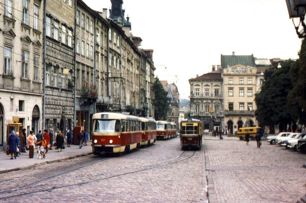 Площа Ринок, 1978 рік.