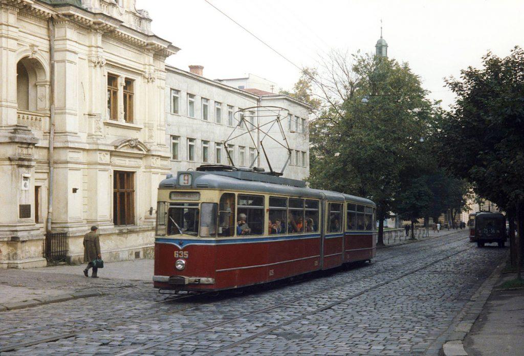 ул. Коперника, 1980 рік.