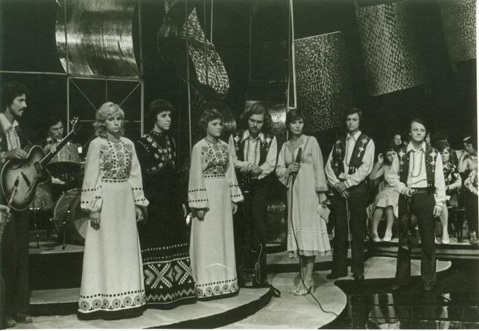 1979 рік У програмі « Ширше коло». Ігор грав на ударних інструментах