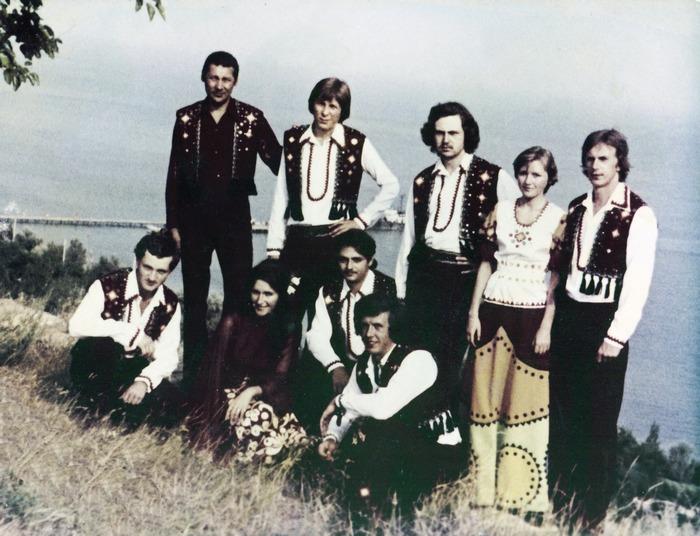 ВІА «Ритми Карпат» 1977 рік
