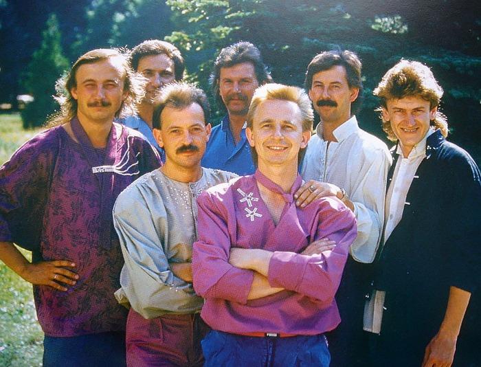 1987 рік. Його «Ватра». Фото: Володимира Дубаса