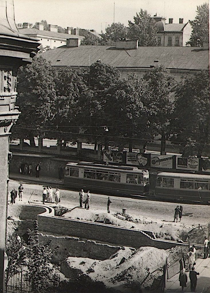 Підвальна у 1972 році.