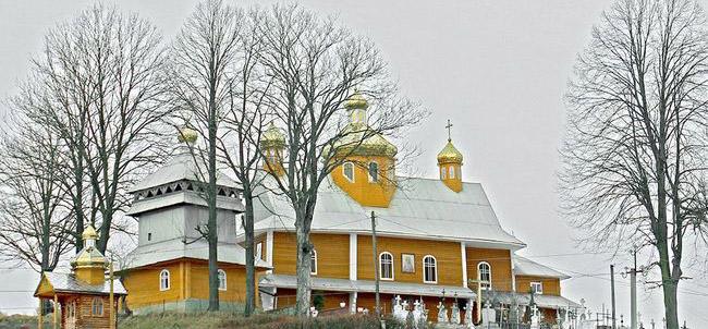 На Львівщині зберігся храм, у якому служив автор гімну України
