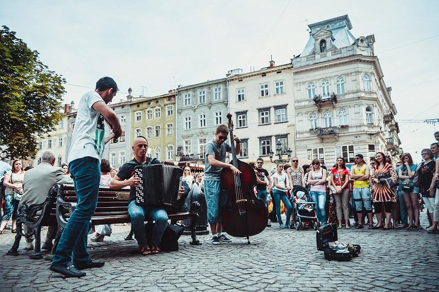 львів вуличні музиканти