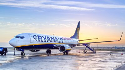 Ryanair проводить розпродаж квитків зі Львова від 8 євро