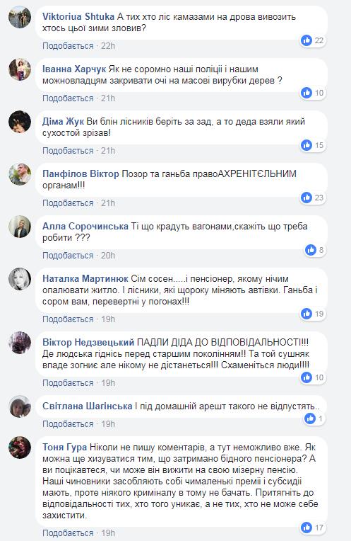 Скріншот коментарів (facebook.com/groups/kremenets)