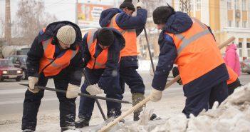 прибирання вулиць громадські роботи