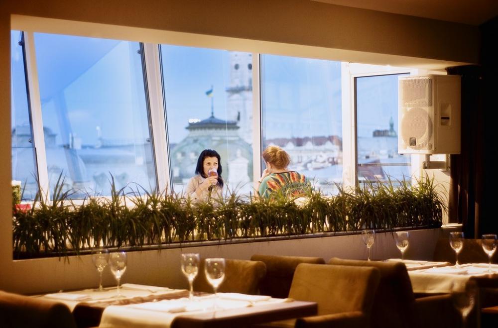 Тераса ресторану «Панорама»