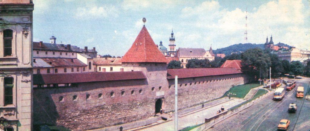 Перехерстя Підвальної та Личаківської, 1985 рік.