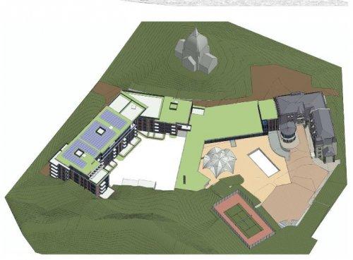 Візуалізація майбутнього комплексу (Ілюстрація - ЛМР)
