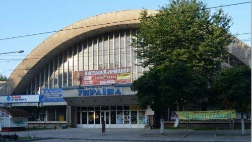 Сучасний вигляд фасаду «Палацу спорту» (Фото- Варіантів)
