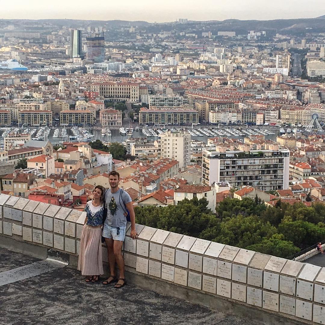 На фото: місто Марсель у Франції.