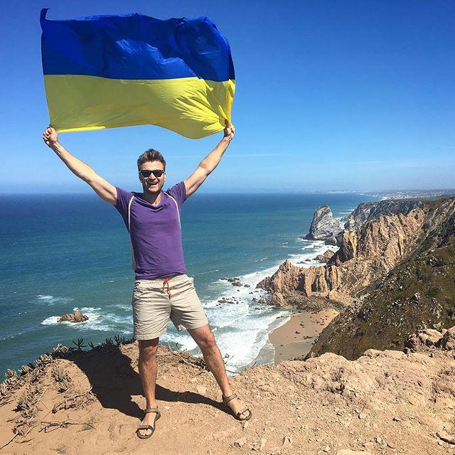 На фото: найзахідніша точка Португалії - мис Кабо-да-Рока.