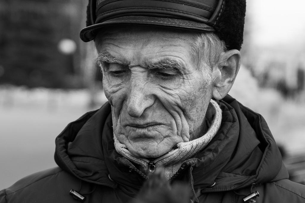 дедушка печаль