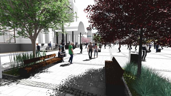 Як зміниться Двірцева площа – фонтан, бруківка та підземний паркінг