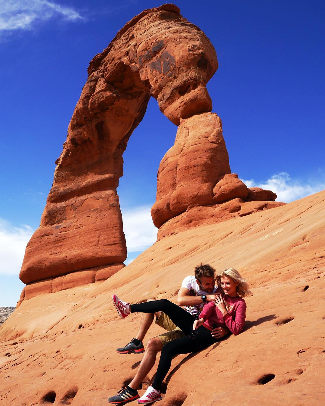 На фото: національний парк США, що розташований у штаті Юта.