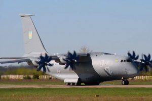 Мережу вразило відео зльоту нового українського літака Ан-77