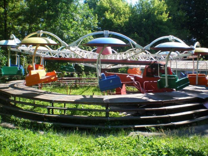 парк культури львів атракціони