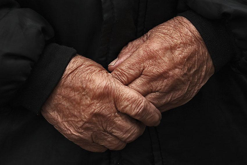 руки старость