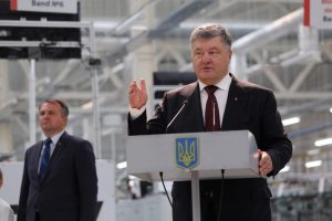 Петро Порошенко прибув до Львова (відеотрансляція)