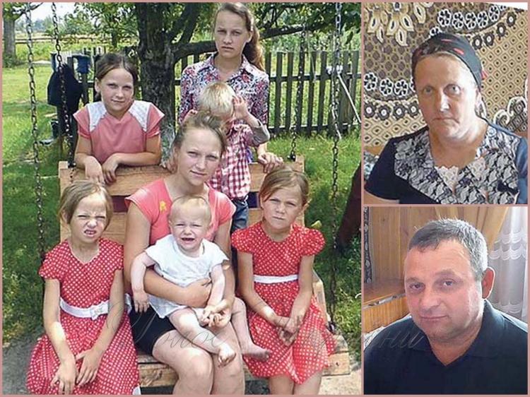 На Рівненщині, у селі Глинне, в багатодітній сім'ї Ковалевич нещодавно народилась 18 дитина