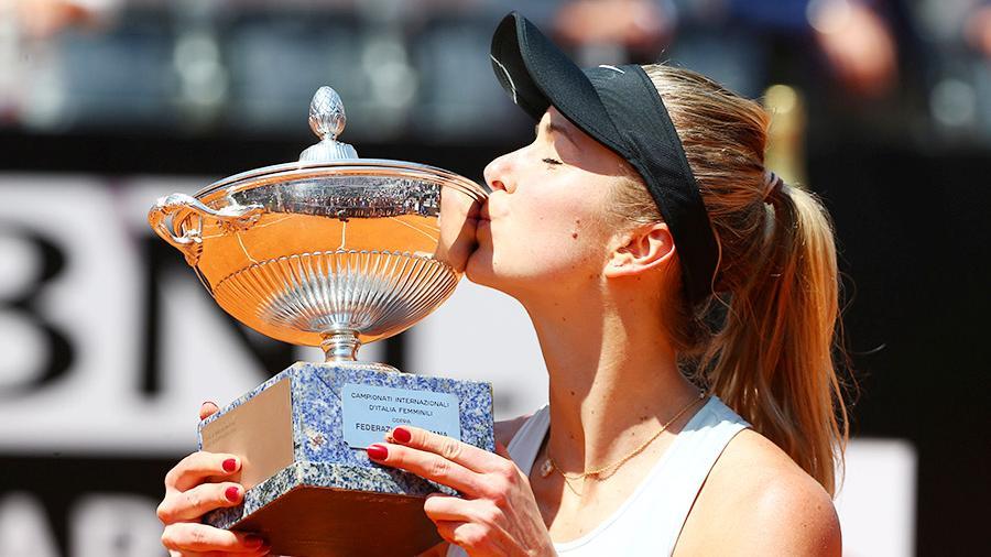 Еліна Світоліна WTA rome