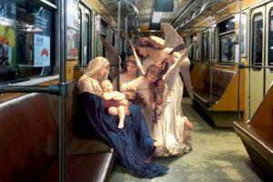Геніально: Український художник переносить героїв класичних картин в сучасність (ФОТО)