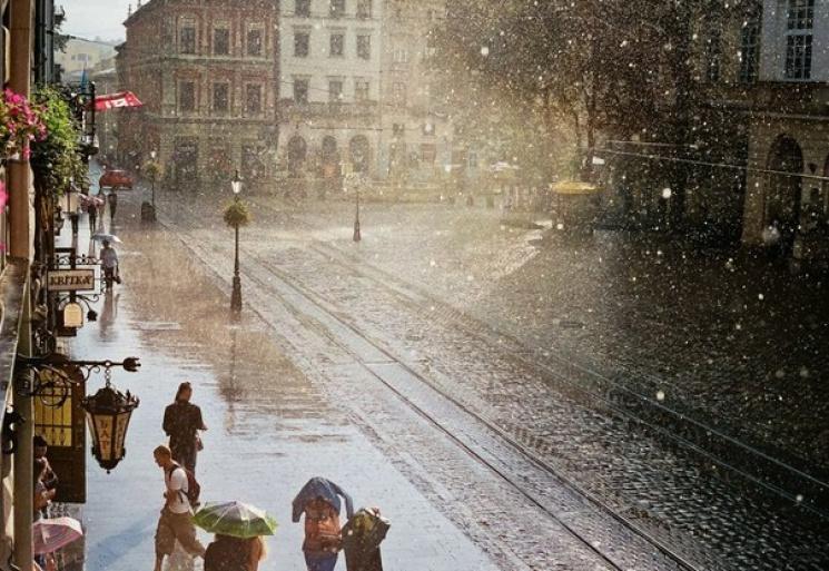 дощ львів площа ринок погода