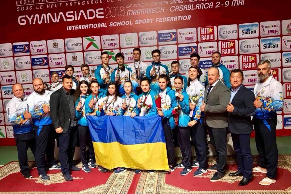 Українські школярі здобули 112 медалей на Всесвітній літній Гімназіаді