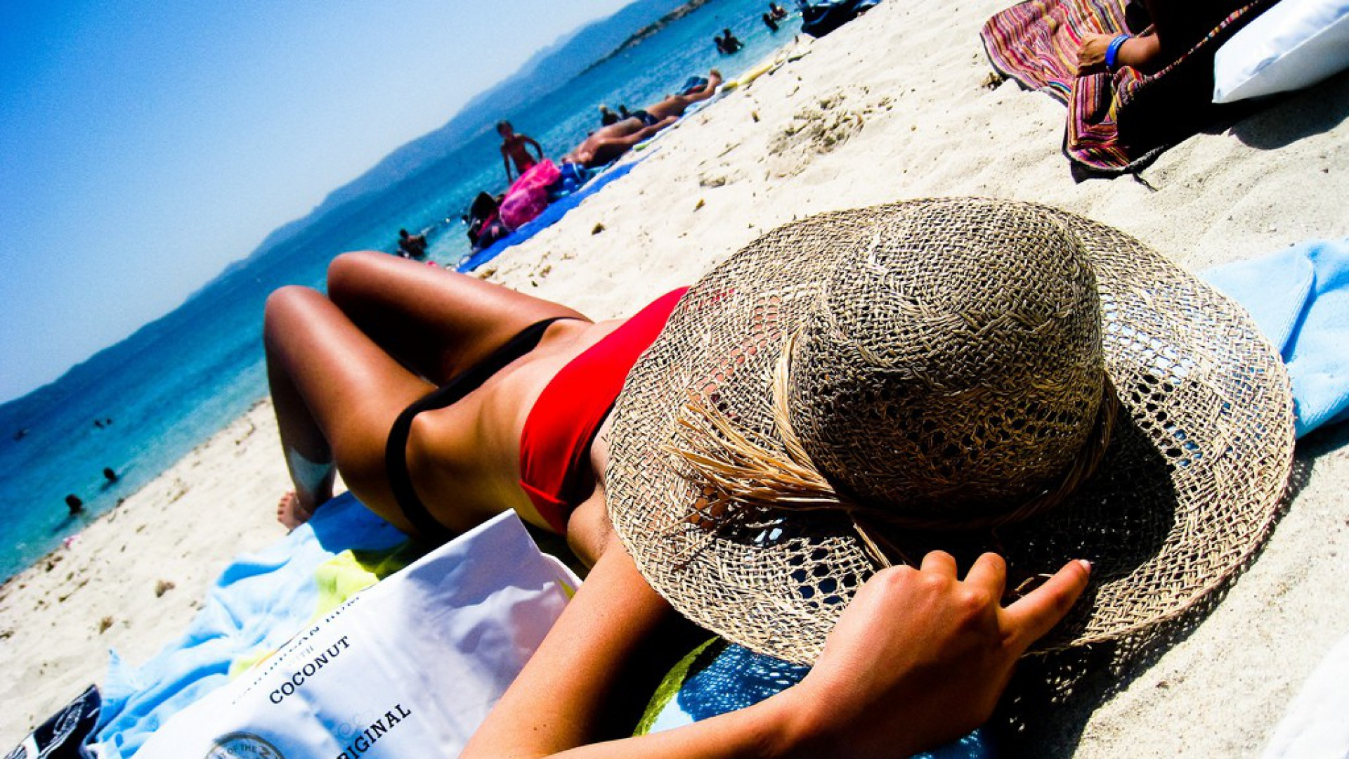пляж сонце літо