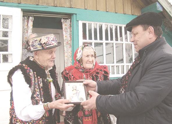 87-річна Анна і 91-річний Танасій Замореняки