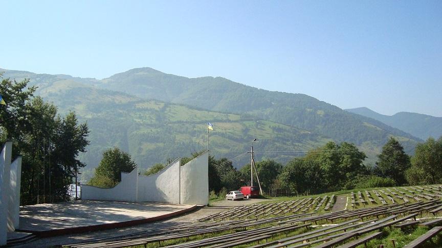 Амфітеатр у місті Рахів
