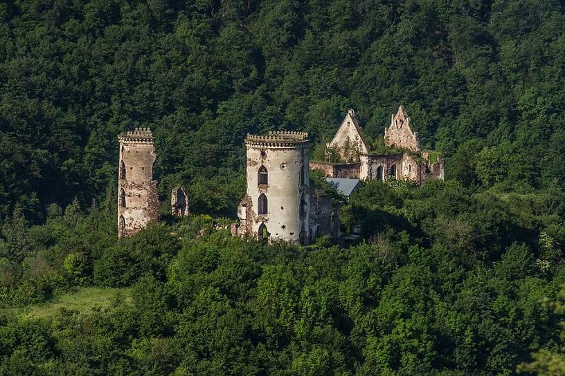 Castrum rubrum (Червоний замок), Нирків, Тернопільська область