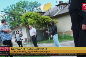 На Львівщині через слово «худоба» побилися священики (відео)