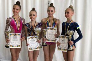 Гімнастка зі Львова Христина Погранична вдруге стала чемпіонкою України