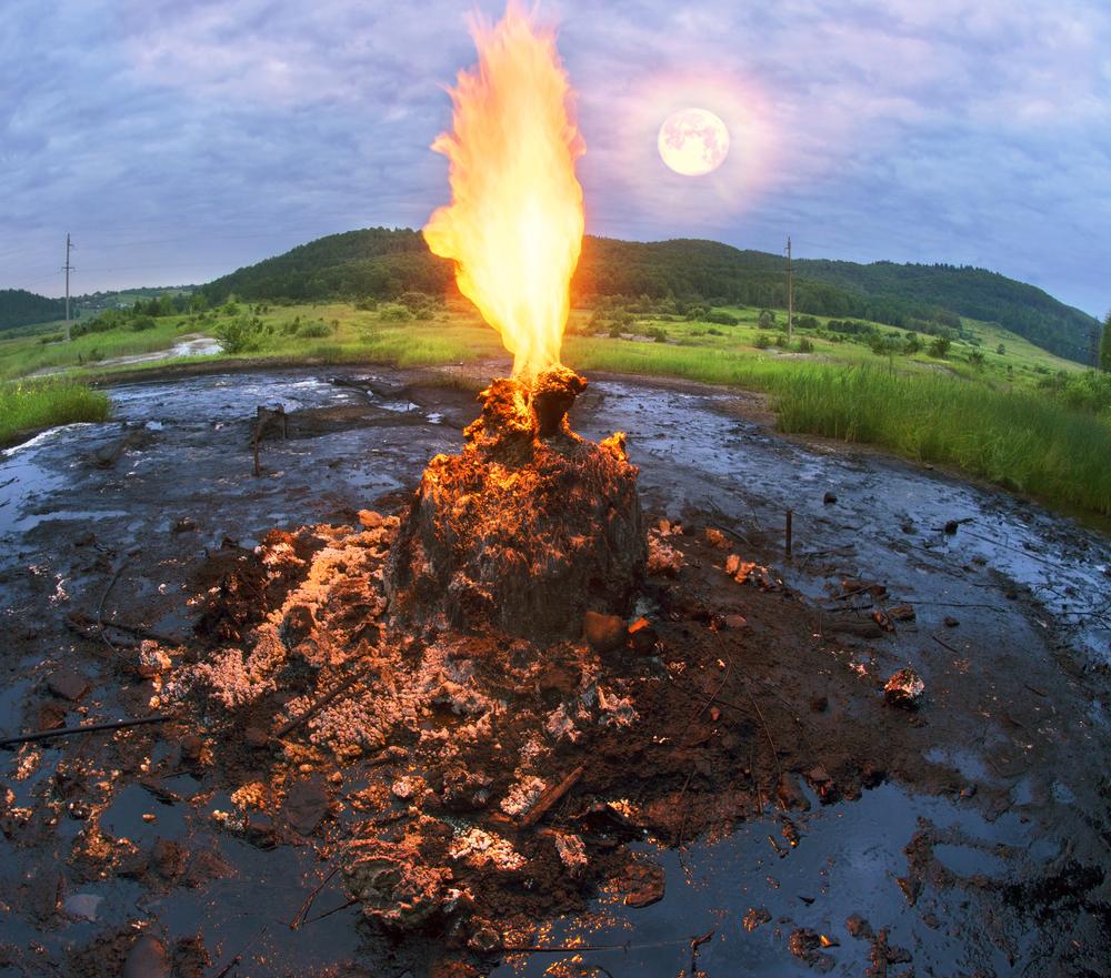 Єдиний діючий вулкан України