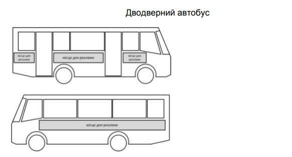 реклама на та автобусах