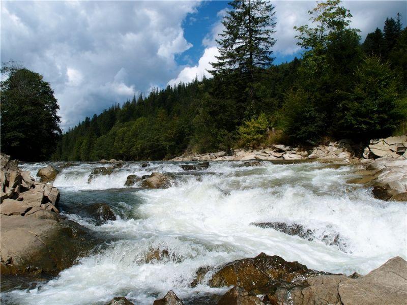 Лумшорські водоспади Лумшори