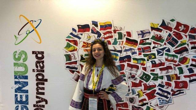 Софія Петришин представила прилад, який перетворює цифрову інформацію на шрифт Брайля
