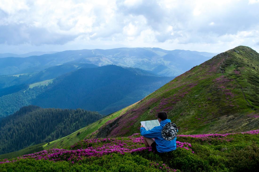 похід карпати туризм гори