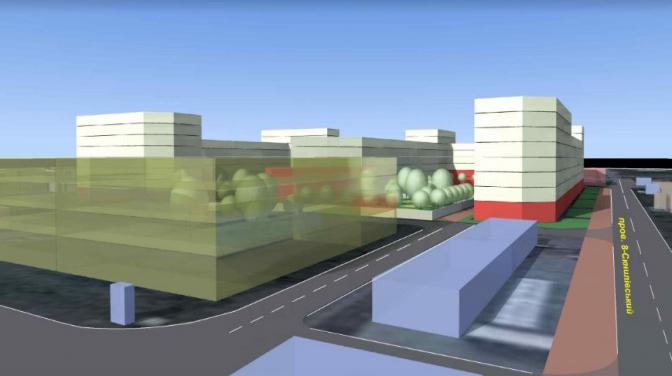 Біля Південного ринку планують звести квартал із дитсадком та багаторівневим паркінгом