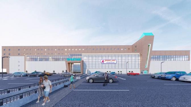 У Львові на Замарстинові відкриють новий спорткомплекс із паркінгом та басейном. Візуалізація