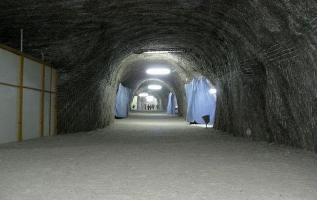 Унікальне підземне відділення в Солотвино