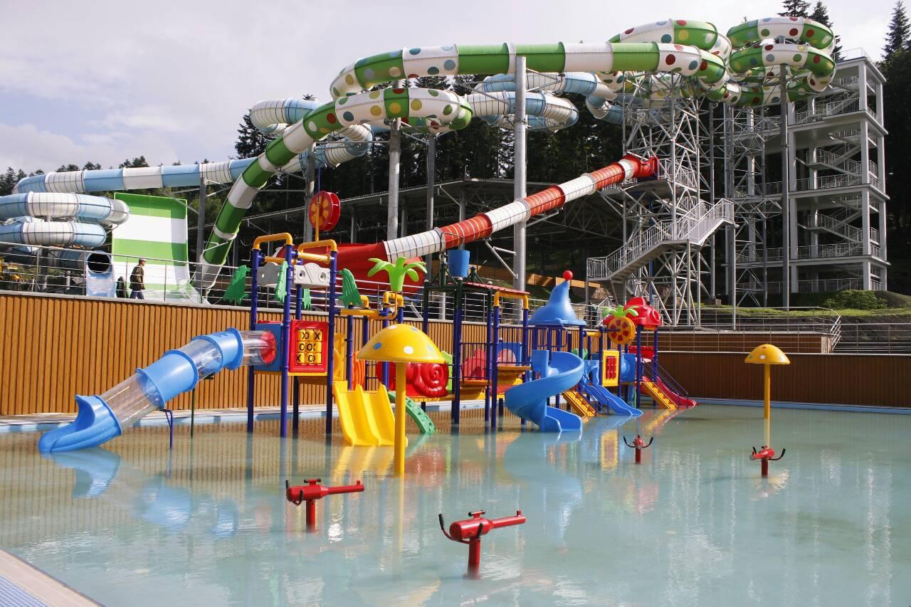 аквапарк східниця Три Сини і Донька