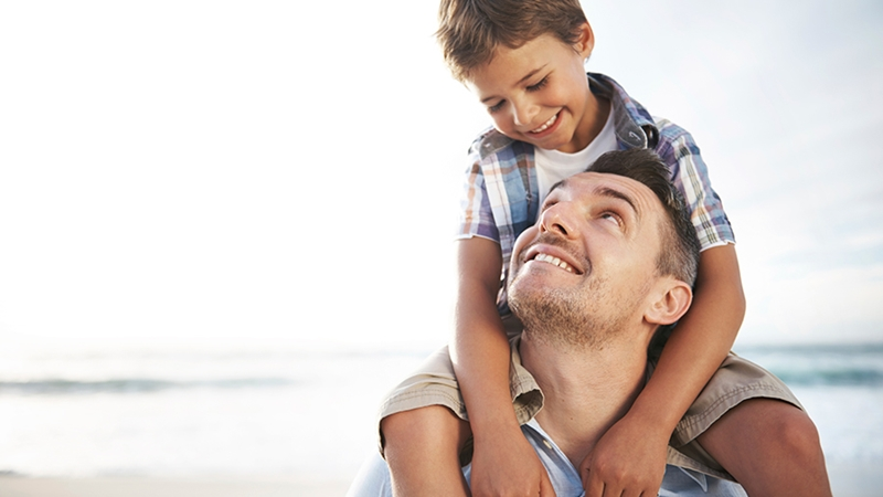 діти дитина хлопчик син батько тато