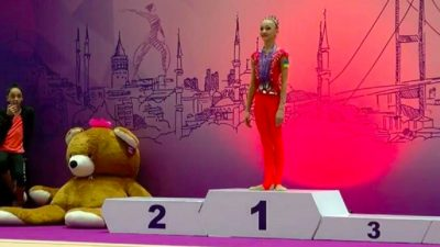 Львів'янка Христина Погранична стала чемпіонкою міжнародного турніру. Відео